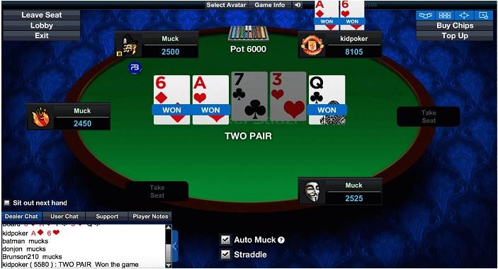 Game đánh bài Poker W88