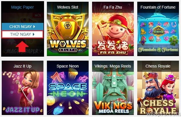 Slot game w88 online