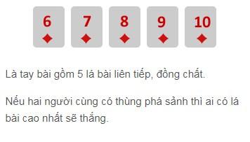 Sảnh đồng chất trong poker W88