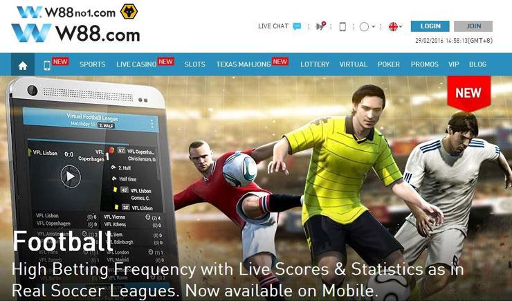 Web cá cược thể thao trực tuyến w88